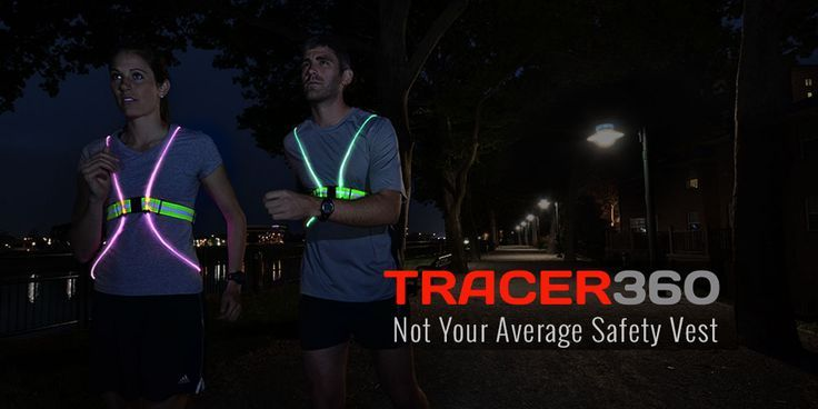 Running Tracer360 - Not your Average Safety Vest