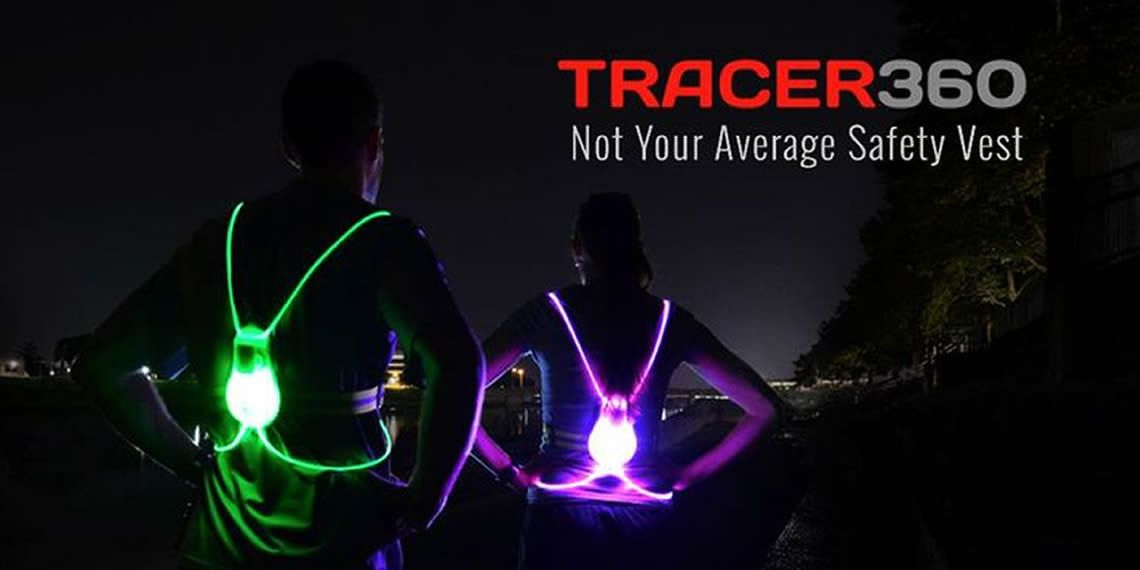 Walking Tracer360 - Not your Average Safety Vest